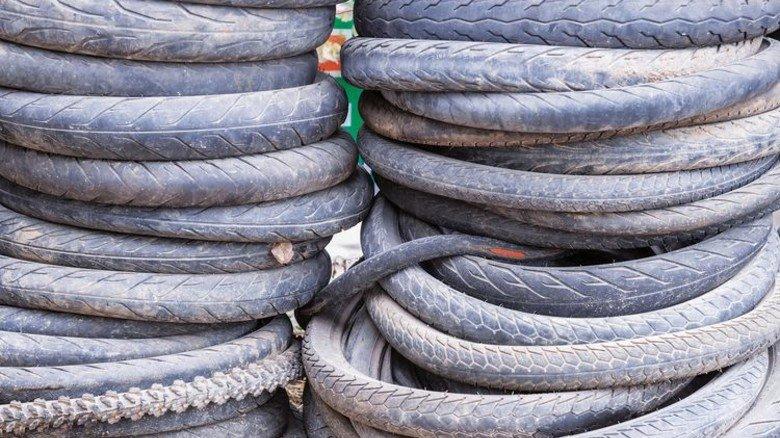 Aus Alt mach Neu: Ausgediente Reifen taugen für mehr als nur den Schrottplatz. Foto: Adobe Stock