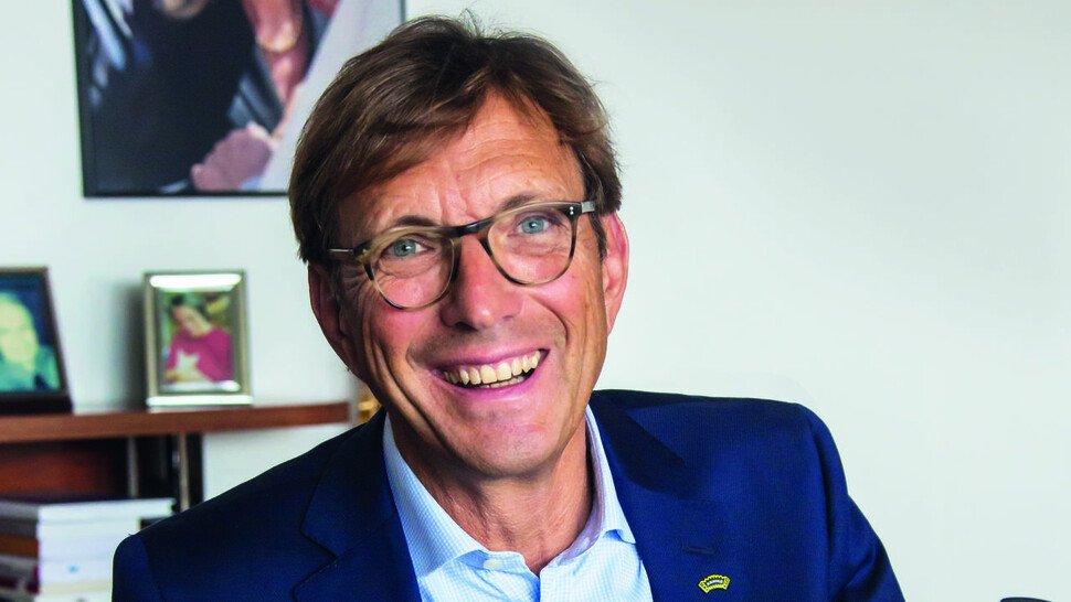 """Wolf Matthias Mang, Geschäftsführer von Arno Arnold in Obertshausen und Vorsitzender von Hessenmetall: """"Die künstliche Intelligenz treibt die Individualisierung der Angebote an die Kunden voran."""""""