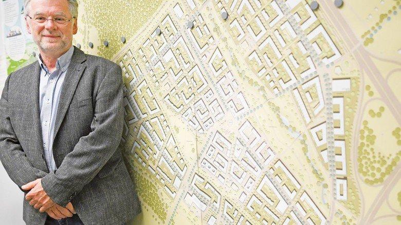 Der Baumeister: Rüdiger Engel leitet die Projektgruppe Dietenbach. Mit dem heftigen Widerstand gegen die Pläne hat er durchaus gerechnet.