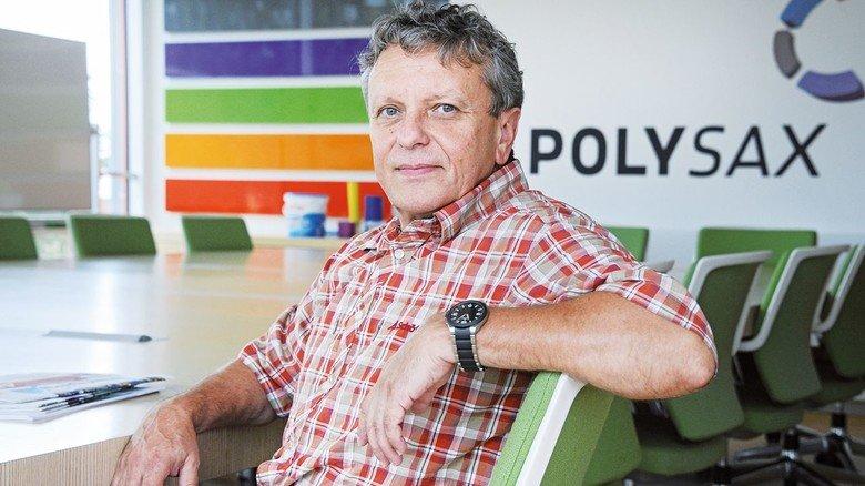 """""""Seit einigen Jahren bietet Polysax auch Umschulungen für Quereinsteiger und Langzeitarbeitslose an"""", hebt Achim Wassner hervor, der Leiter des Bildungszentrums."""
