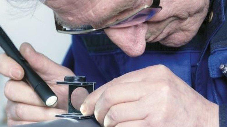 Kontrolle der Qualität: Das Servicegeschäft ist wichtiger Umsatzbringer. Foto: Werk