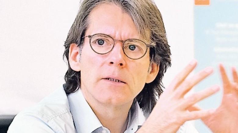"""""""Göttingen ist Herz, Kopf und Motor des Konzerns."""" Joachim Kreuzburg, Vorstandsvorsitzender von Sartorius. Foto: Mischke und Heller"""