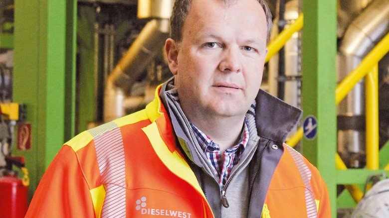 Wir schaffen einen chemischen Kreislauf: Christian Haupts, Geschäftsführer von Recenso, ist zuversichtlich, damit einen Schlüssel für viele Probleme zu haben.