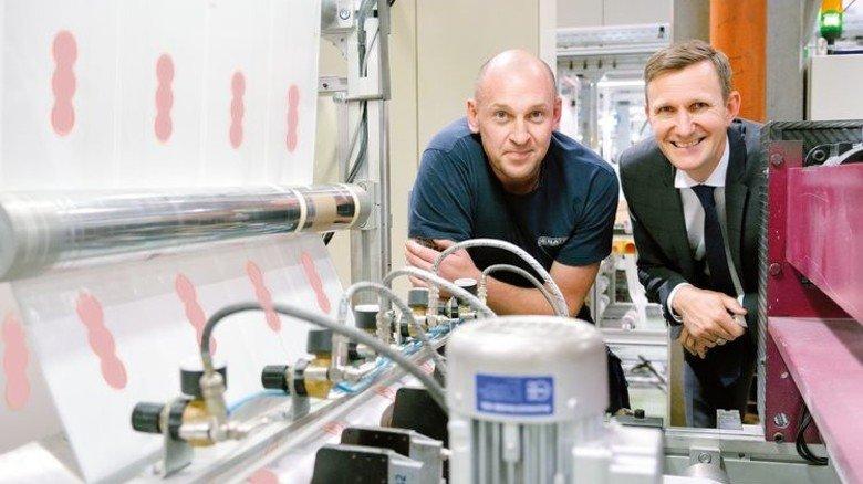 Engagiert für die Umwelt: Denis Wagner (links) und Thomas Rose. Foto: Scheffler