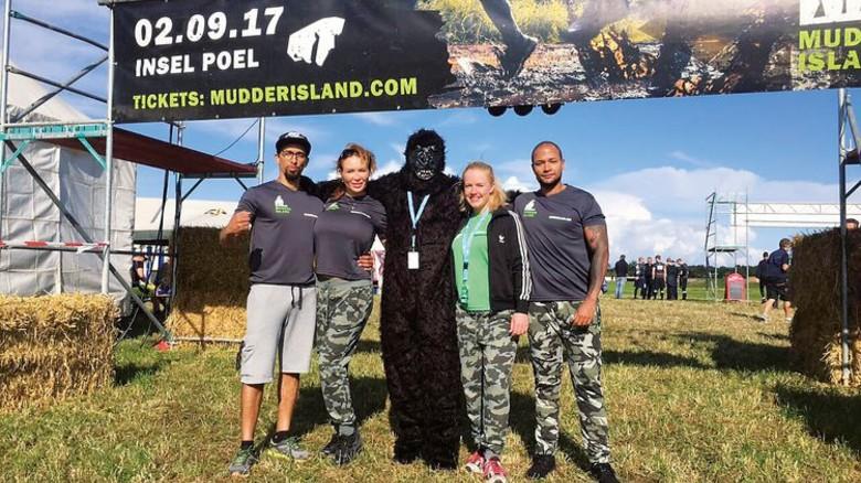 """Spaß und Sport: """"Mudder Island"""" bietet einiges. Foto: Werk"""