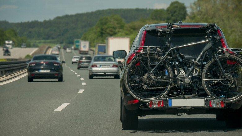 Gute Reise! Zwei Drittel aller verkauften Radträger entfallen auf Modelle für die Anhängerkupplung.