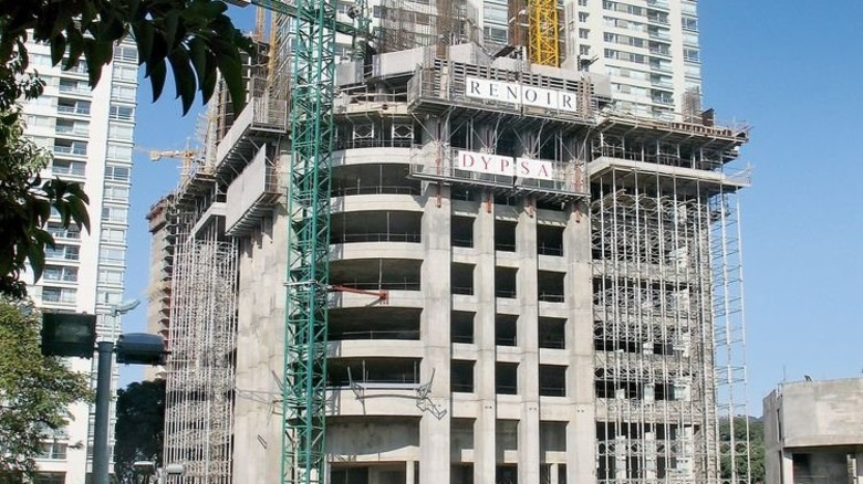 Baustelle in Argentiniens Hauptstadt Buenos Aires: Die Firma treibt die Internationalisierung weiter voran. Foto: Werk
