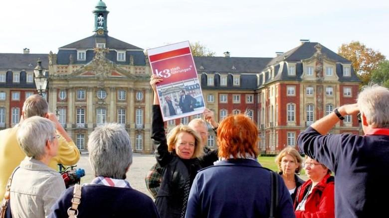 """… auf ihren Spuren kann man zum Beispiel bei der """"K3-Führung"""" in Münster wandeln. Foto: Veranstalter"""