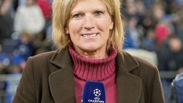 Hat Sport studiert: Claudia Neumann vom ZDF. Foto: dpa