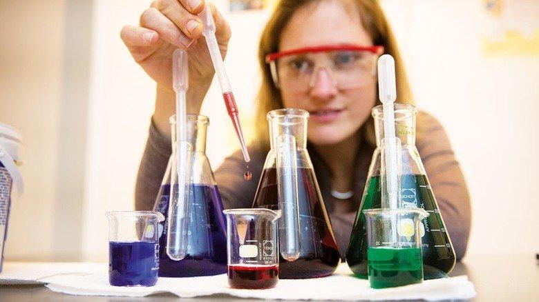 Experminenteller Unterricht: Gefördert vom Fonds der Chemischen Industrie.