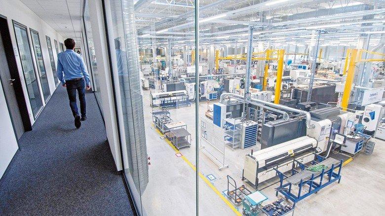 Modernste Produktion: Vor zwei Jahren hat die bilstein group Engineering eine neue Fertigungshalle bezogen.