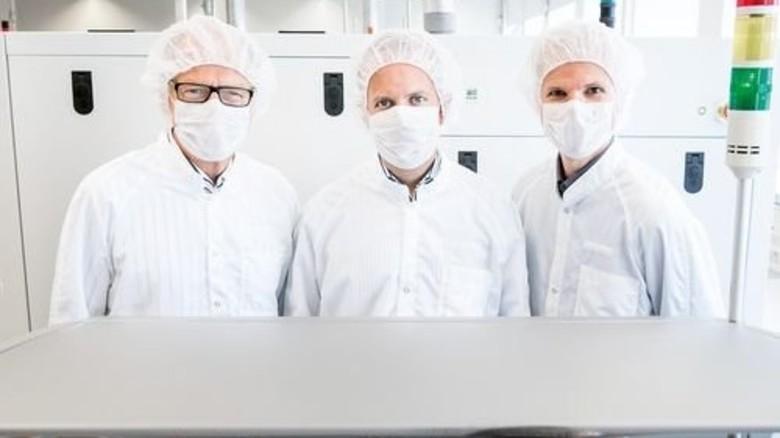 Das Team: Ralf Bornefeld (Mitte) mit Rudolf Lachner (links) und Walter Hartner. Foto: Werk