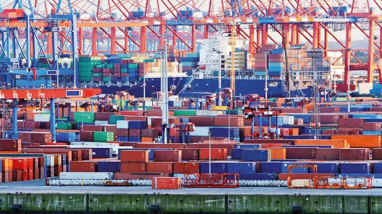 Hamburger Hafen: Eine wichtige Drehscheibe für die internationalen Lieferketten.