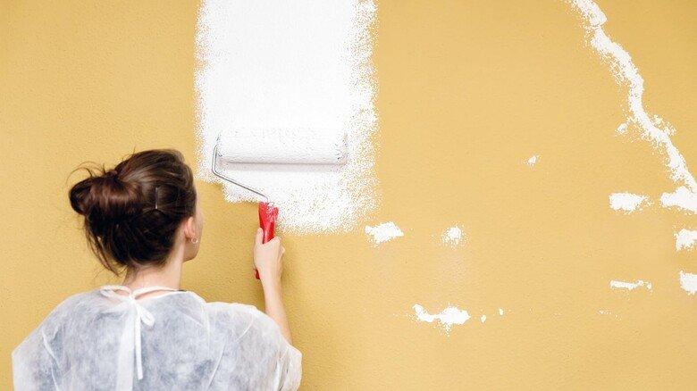 Farbe an die Wand: Mieter dürfen stets selbst den Pinsel schwingen – wenn das Ergebnis am Ende ordentlich ist.