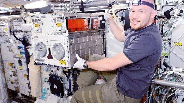 Star im All: Astronaut Alexander Gerst kommt aus Künzelsau. Foto: DLR