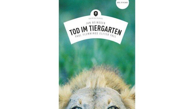 """Buchtitel """"Tod im Tiergarten"""" von Krimiautor Jan Beinssen. Foto: Ars Vivendi"""