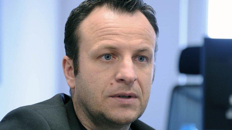 """Geschäftsführer Daniel Menzel: """"Unsere Produkte sind Einzelstücke, individuell für den Kunden konstruiert."""""""