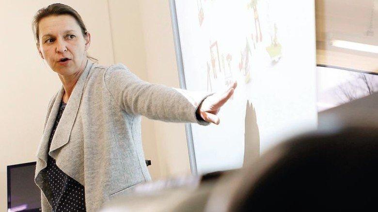 Engagiert: Bio- und Chemielehrerin Nicole Fieger-Metag. Foto: Spiering