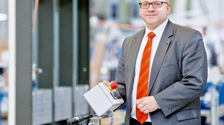 Hat viel vor: Geschäftsführer Markus Leutloff will in Zukunft mehr Kühlregale verkaufen. Foto: Karmann