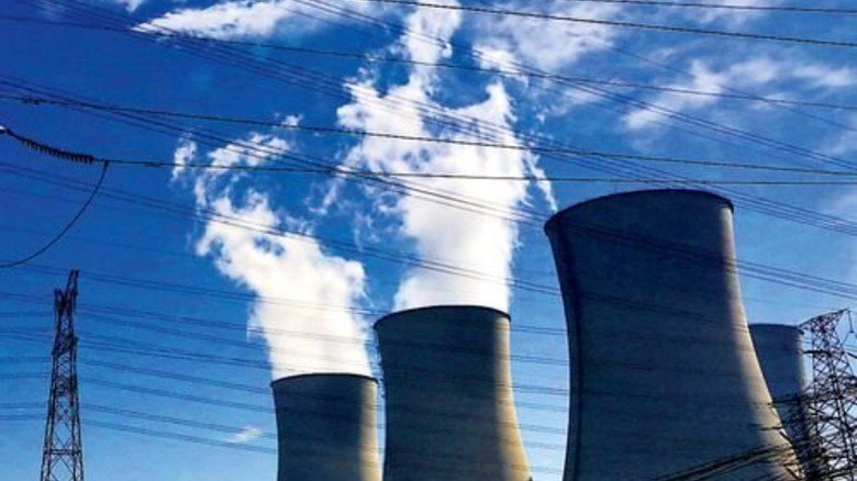 Auch da kommt was raus: Kohlekraftwerk in China. Foto: dpa