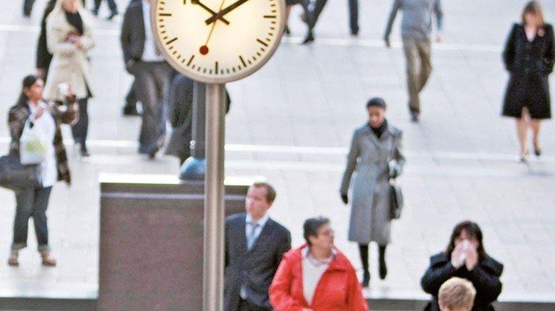 Zeit: Knapp und wertvoll. Foto: iStock
