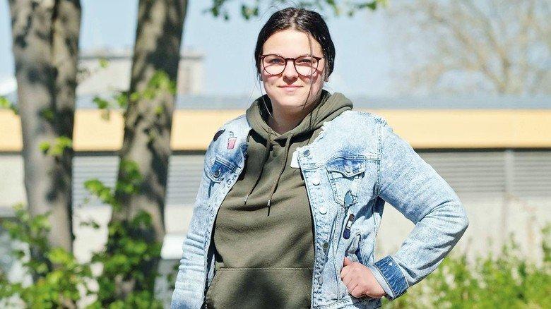 Erhielt Gutschein: Auszubildende Sophia Bahr will den Coupon teilen.