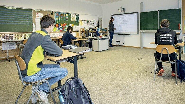 Digital: Ein Whiteboard als Tafel haben noch lang nicht alle bayerischen Schulen.