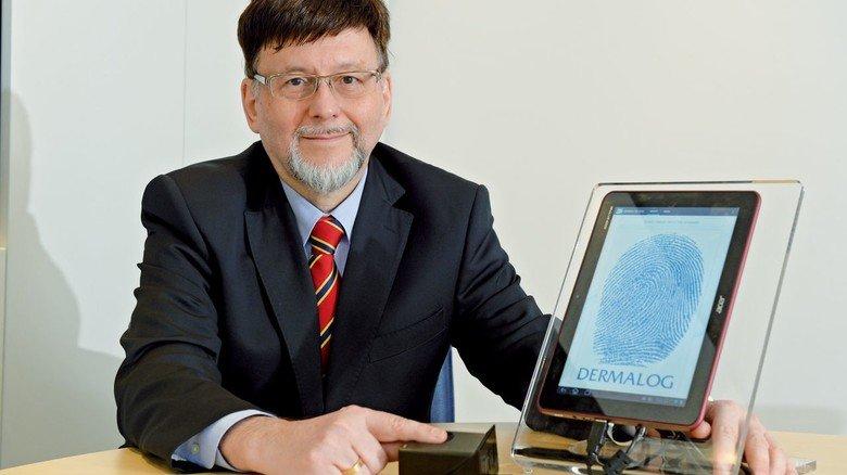 Unternehmer: Dermalog wurde 1995 von dem Humanbiologen Günther Mull gegründet, der mittlerweile mehr als 220 Mitarbeiter beschäftigt.