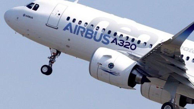 A 320 von Airbus: Toolcraft produziert innovative Metallbauteile. Foto: dpa