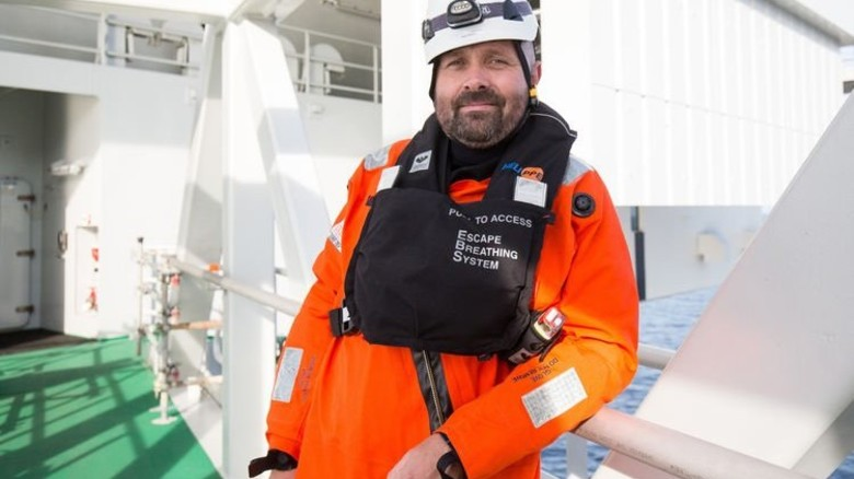 Christof Huß ist Betriebsleiter des Vattenfall-Windparks Dantysk. Foto: dpa