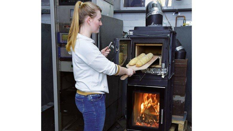 Test: Ein neues Ofenmodell, das auch zum Brotbacken genutzt werden kann.