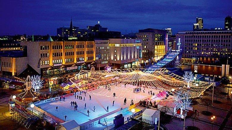 """""""Essen on Ice"""": Hier kann man nach Weihnachten ein paar Pfunde abtrainieren. Foto: Wieler/EMG"""