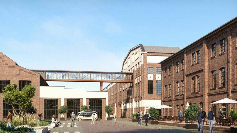 Für Start-ups:  Die Technische Hochschule Aachen baut eine ehemalige Maschinenfabrik für junge Technologiefirmen um.