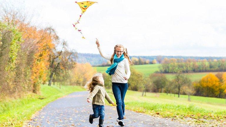 Jetzt sind wieder die Drachenflieger unterwegs: Einleiner sind besonders für Kinder und Anfänger geeignet.