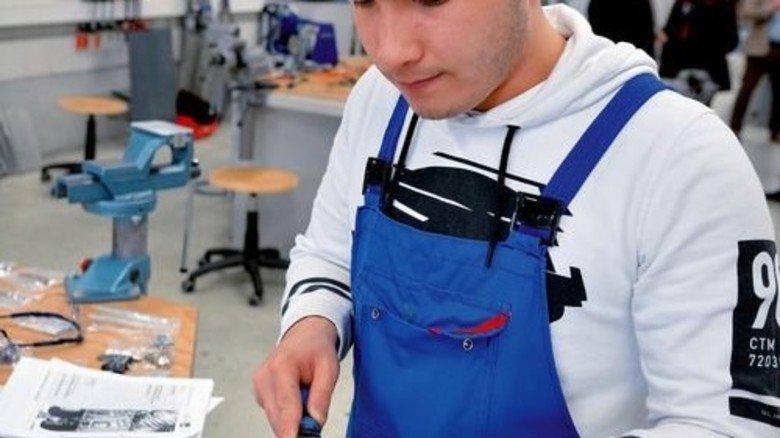 Ausbildung: Auf qualifizierten Nachwuchs setzt Röder auch in Zukunft. Foto: Scheffler