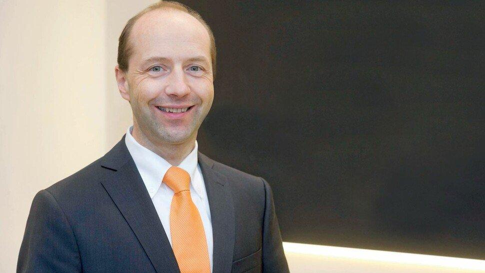 Johannes Maier, Geschäftsführer bei AMF in Fellbach. Das Unternehmen produziert mit 230 Mitarbeitern Spannelemente, unter anderem für die Auto-Industrie.