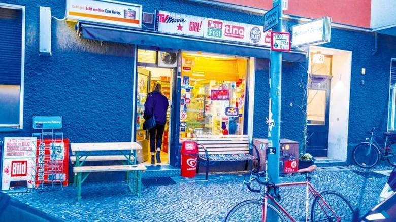 """Berliner Kulturgut: Etwa 1.000 solcher """"Spätis"""" gibt es in der Hauptstadt. Foto: Roth"""