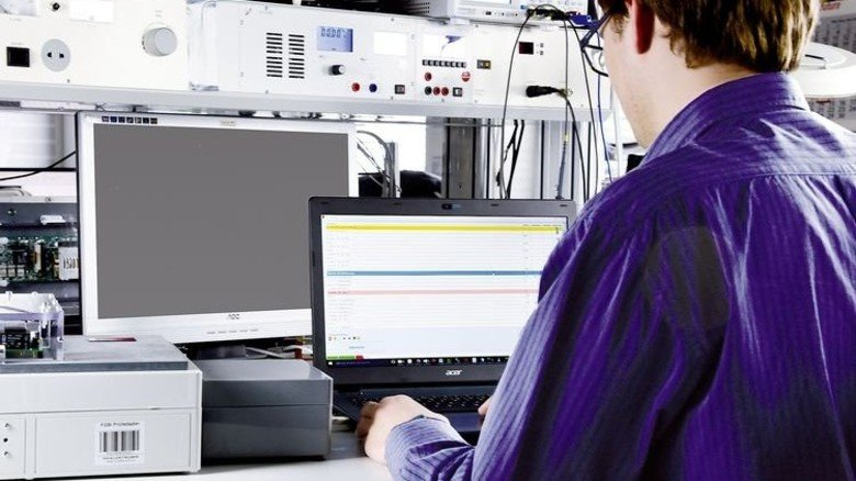 Wichtig: Die Prüfung elektronischer Baugruppen bei FG-Elektronik. Sie werden unter anderem in der Medizintechnik eingesetzt. Foto: FG-Elektronik