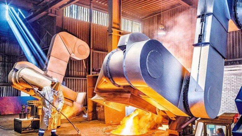 Gut investiert: Bei Fritz Winter in Stadtallendorf steht eine der modernsten Gießereien weltweit. Foto: Werk