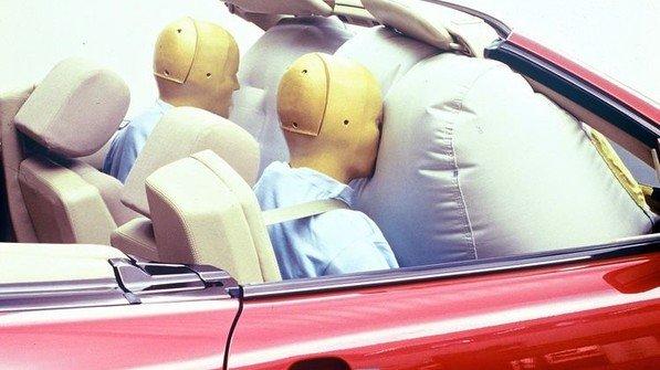 Heute Standard: Der Airbag. Foto: Daimler