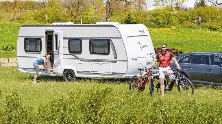 Auf geht's: Camping steht für kurze Wege in die Natur und Individualität.