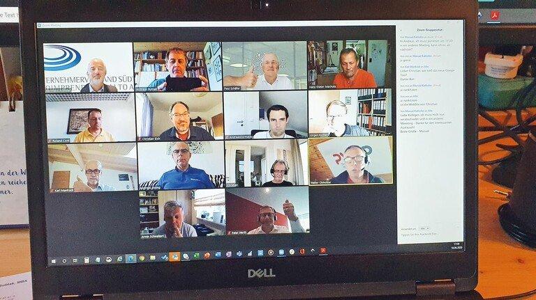 Austausch: Zu Zeiten von Corona sind Meetings oft nur digital möglich – wenn es die IT-Infrastruktur zulässt.