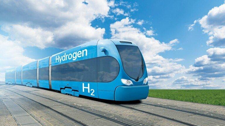 Saubere Technik: 2019 fuhr erstmals ein Wasserstoffzug von Ludwigshafen nach Mannheim.