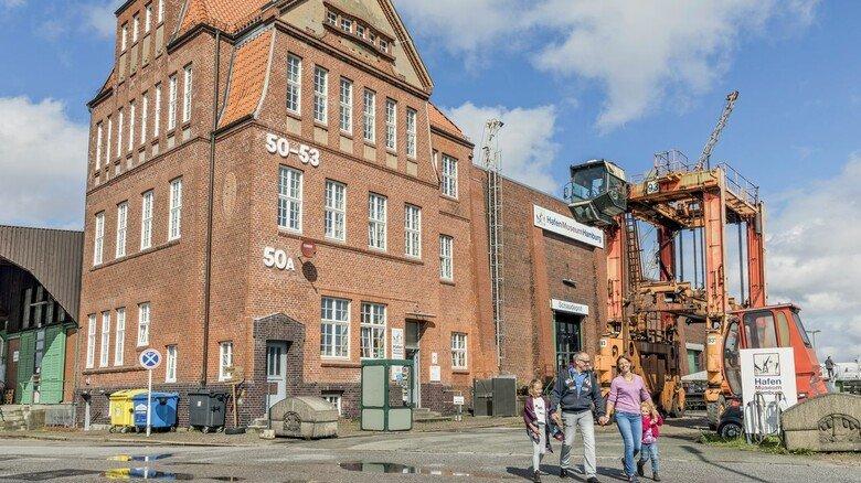 Historisch: Der alte Kaischuppen 50 A ist das Herzstück des Hafenmuseums.