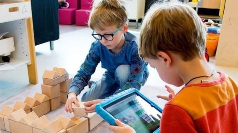 Auch die Kleinsten sind schon dabei: Die Schule in Holland beginnt meist schon mit vier. Foto: Straßmeier