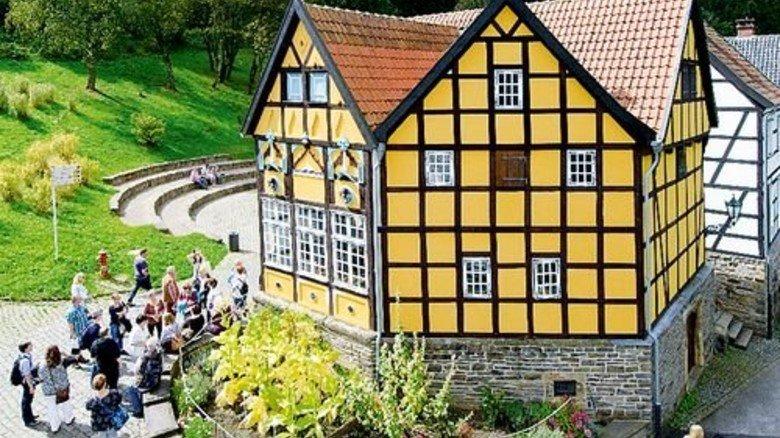 Gute alte Zeit? Die Freilichtmuseen (hier in Hagen) vermitteln spannende Eindrücke. Foto: LWL