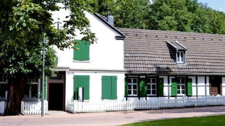 Hier wohnte der Chef: Direktorenhaus der einstigen St. Antony-Hütte. Foto: LVR-Industriemuseum