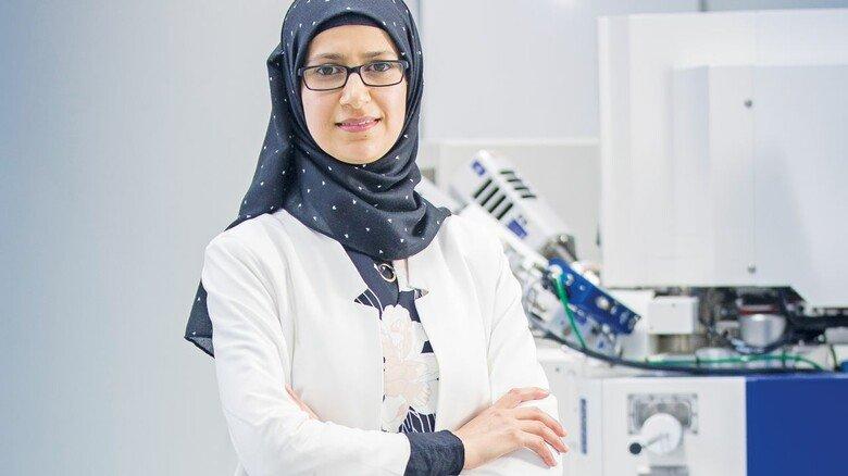 Dreifache Mutter, Muslimin und wohl bald Professorin: Montaha Anjass aus Palästina kam 2013 nach Deutschland, noch ohne Perspektive, aber mit einem Traum.