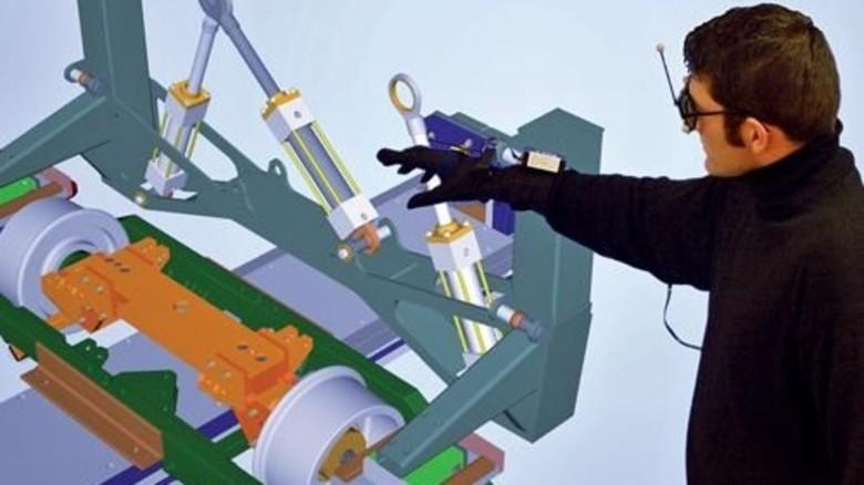 Virtueller Protoypenbau: Er ist Teil der Industrie 4.0, die in NRW vorangebracht wird. Foto: Universität Paderborn