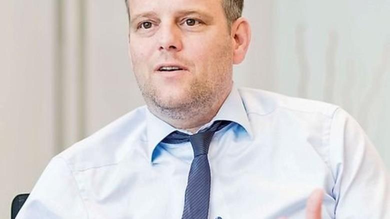 """""""Sie stoßen vieles an. Schließlich geht es um ihre Gesundheit."""" Dirk Heusing, Geschäftsführer. Foto: Küstner"""